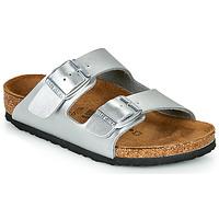Pantofi Fete Papuci de vară Birkenstock ARIZONA Silver