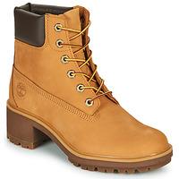 Pantofi Femei Botine Timberland Kinsley Galben-grâu