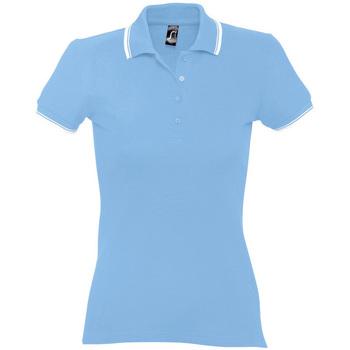 Îmbracaminte Femei Tricou Polo mânecă scurtă Sols PRACTICE POLO MUJER Azul