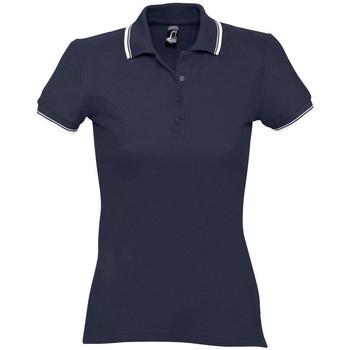 Îmbracaminte Femei Tricou Polo mânecă scurtă Sols PRACTICE GOLF SPORT Azul