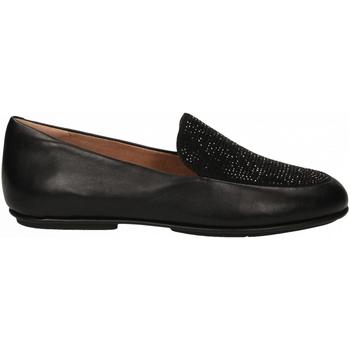 Pantofi Femei Mocasini FitFlop LENA CRYSTAL LOAFER black