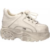 Pantofi Femei Pantofi sport Casual Buffalo 1339-14 DIRTY WHITE LEATHER bianco