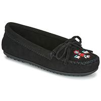 Pantofi Femei Mocasini Minnetonka THUNDERBIRD II Negru
