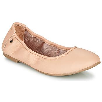 Pantofi Femei Balerin și Balerini cu curea Minnetonka ANNA Roz