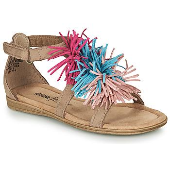 Pantofi Fete Sandale  Minnetonka ELOISE Taupe
