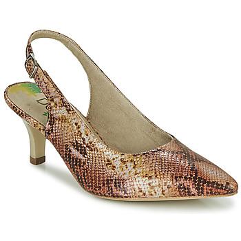 Pantofi Femei Pantofi cu toc Dorking MOON Maro