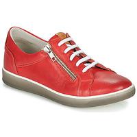 Pantofi Femei Pantofi sport Casual Dorking KAREN Roșu / Bej