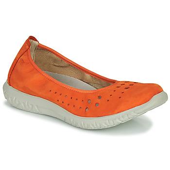 Pantofi Femei Balerin și Balerini cu curea Dorking SILVER Portocaliu
