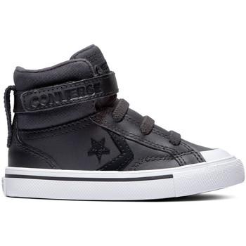 Pantofi Copii Pantofi sport stil gheata Converse Pro blaze strap martian hi Negru