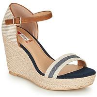 Pantofi Femei Sandale  S.Oliver NOULATI Bej / Albastru