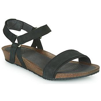 Pantofi Femei Sandale  Teva MAHONIA STITCH Negru