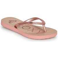 Pantofi Fete  Flip-Flops Roxy VIVA GLTR III Roz