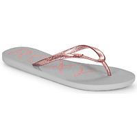 Pantofi Femei  Flip-Flops Roxy VIVA SPARKLE Gri / Roz