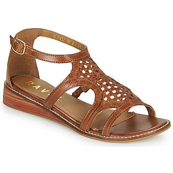 Pantofi Femei Sandale  Ravel CARDWELL Tan