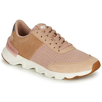 Pantofi Femei Pantofi sport Casual Sorel KINETIC LITE LACE Bej / Roz