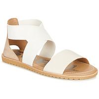 Pantofi Femei Sandale  Sorel ELLA SANDAL Alb / Bej