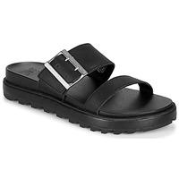 Pantofi Femei Sandale  Sorel ROAMING BUCKLE SLIDE Negru