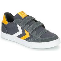 Pantofi Copii Pantofi sport Casual Hummel STADIL LOW JR Gri