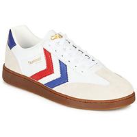 Pantofi Bărbați Pantofi sport Casual Hummel VM78 CPH LEATHER Alb / Roșu / Albastru