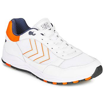 Pantofi Bărbați Pantofi sport Casual Hummel 3-S SPORT Alb / Portocaliu