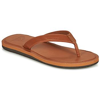 Pantofi Bărbați  Flip-Flops Quiksilver MOLOKAI NUBUK II Maro