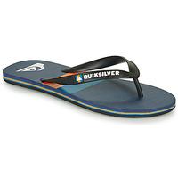 Pantofi Bărbați  Flip-Flops Quiksilver MOLOKAI SEASONS Negru / Albastru / Portocaliu