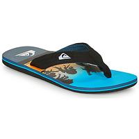 Pantofi Bărbați  Flip-Flops Quiksilver MOLOKAI LAYBACK Albastru / Negru
