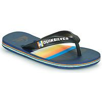 Pantofi Copii  Flip-Flops Quiksilver MOLOKAI SLAB Albastru / Portocaliu / Negru