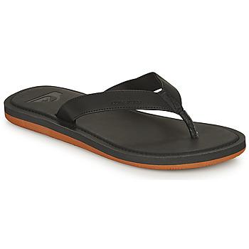 Pantofi Bărbați  Flip-Flops Quiksilver MOLOKAI NUBUCK II Negru