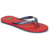 Pantofi Bărbați  Flip-Flops Quiksilver MOLOKAI Roșu / Albastru