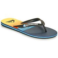 Pantofi Bărbați  Flip-Flops Quiksilver MOLOKAI HOLD DOWN Negru / Albastru