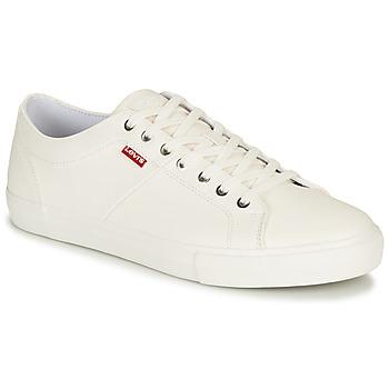 Pantofi Bărbați Pantofi sport Casual Levi's WOODWARD Alb