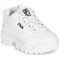 Pantofi Copii Pantofi sport Casual Fila DISRUPTOR INFANTS Alb