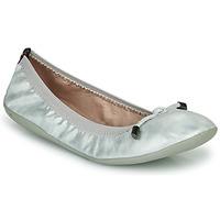 Pantofi Femei Balerin și Balerini cu curea Les Petites Bombes AVA Argintiu