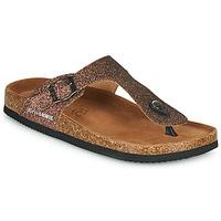 Pantofi Femei Papuci de vară Les Petites Bombes TANIA Bronz