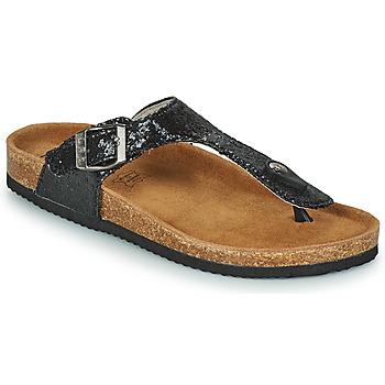 Pantofi Femei Papuci de vară Les Petites Bombes TANIA Negru