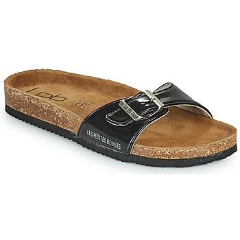 Pantofi Femei Papuci de vară Les Petites Bombes ROSA Negru