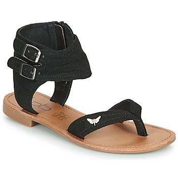 Pantofi Femei Sandale  Les Petites Bombes VALENTINE Negru