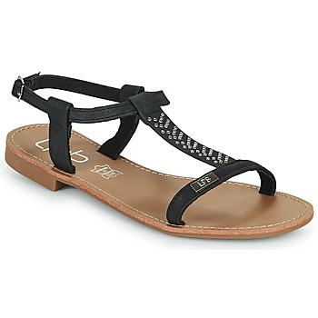 Pantofi Femei Sandale  Les Petites Bombes EMILIE Negru