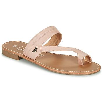 Pantofi Femei  Flip-Flops Les Petites Bombes EVA Alb / Argintiu