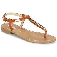 Pantofi Femei Sandale  Les Petites Bombes MANEL Camel