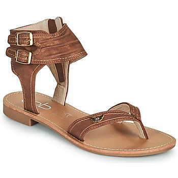 Pantofi Femei Sandale  Les Petites Bombes CAMEL Camel