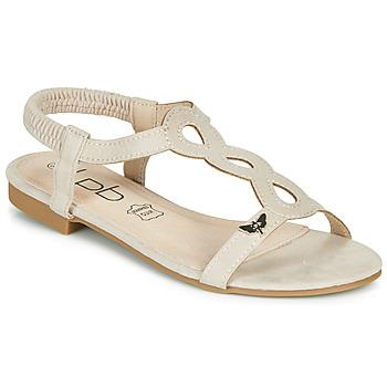 Pantofi Femei Sandale  Les Petites Bombes FLORA Bej