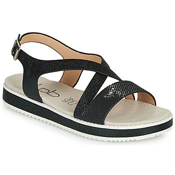 Pantofi Femei Sandale  Les Petites Bombes MARIA Negru
