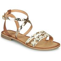 Pantofi Femei Sandale  Les Petites Bombes AGATHE Auriu