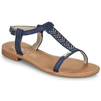 Pantofi Femei Sandale  Les Petites Bombes EMILIE Albastru