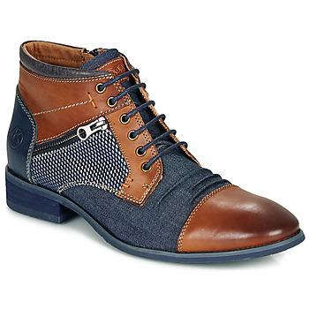 Pantofi Bărbați Ghete Kdopa BILLY Maro / Albastru