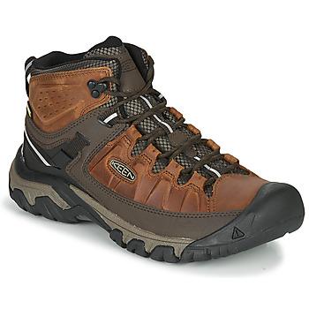 Pantofi Bărbați Drumetie și trekking Keen TARGHEE III MID WP Maro