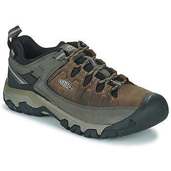Pantofi Bărbați Drumetie și trekking Keen TARGHEE III WP Maro