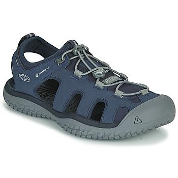 Pantofi Bărbați Sandale sport Keen SOLR SANDAL Albastru / Gri